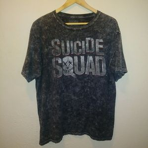 Suicide Squad Distressed Graphic Tee Shirt